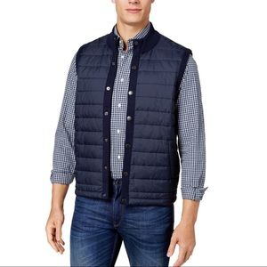 Barbour Essential Gilet Navy Vest Size Small S